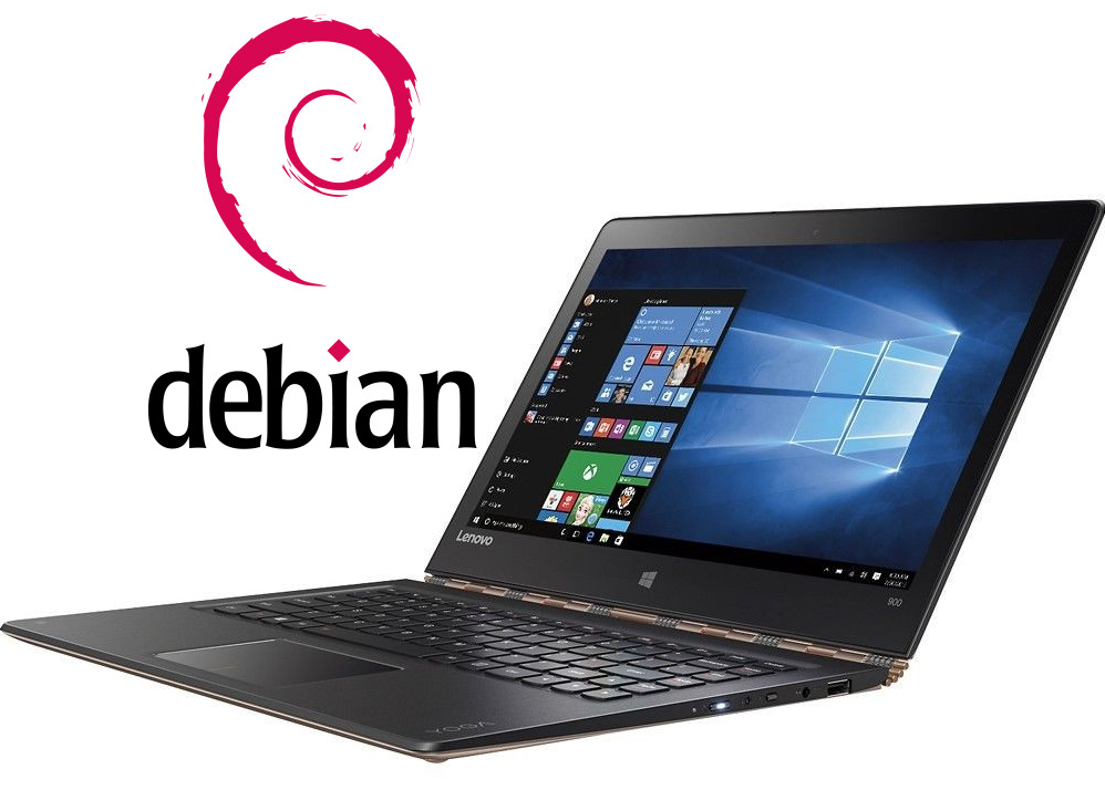 How to install Debian Linux with dualboot on Lenovo Yoga